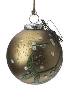 Bilde av Walther julekule med misteltein 10cm