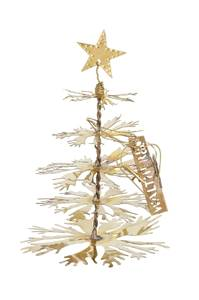 Bilde av Walther juletre 20cm i messing med stjerne