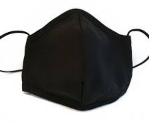 Bilde av Munnbind i svart bomull