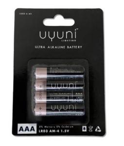 Bilde av Uyuni batterier AAA 4pk