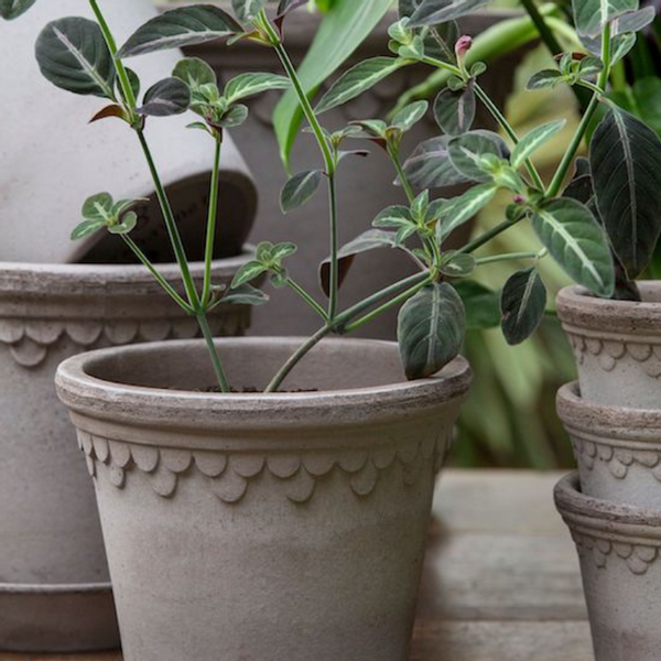 potter vaser bergs dbkd cloudy cooee glass keramikk plante